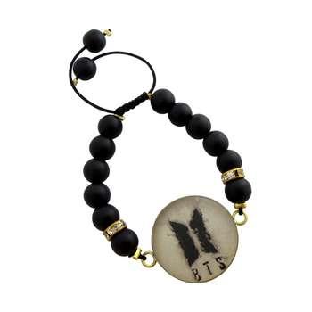 دستبند زنانه طرح BTS کد 1003