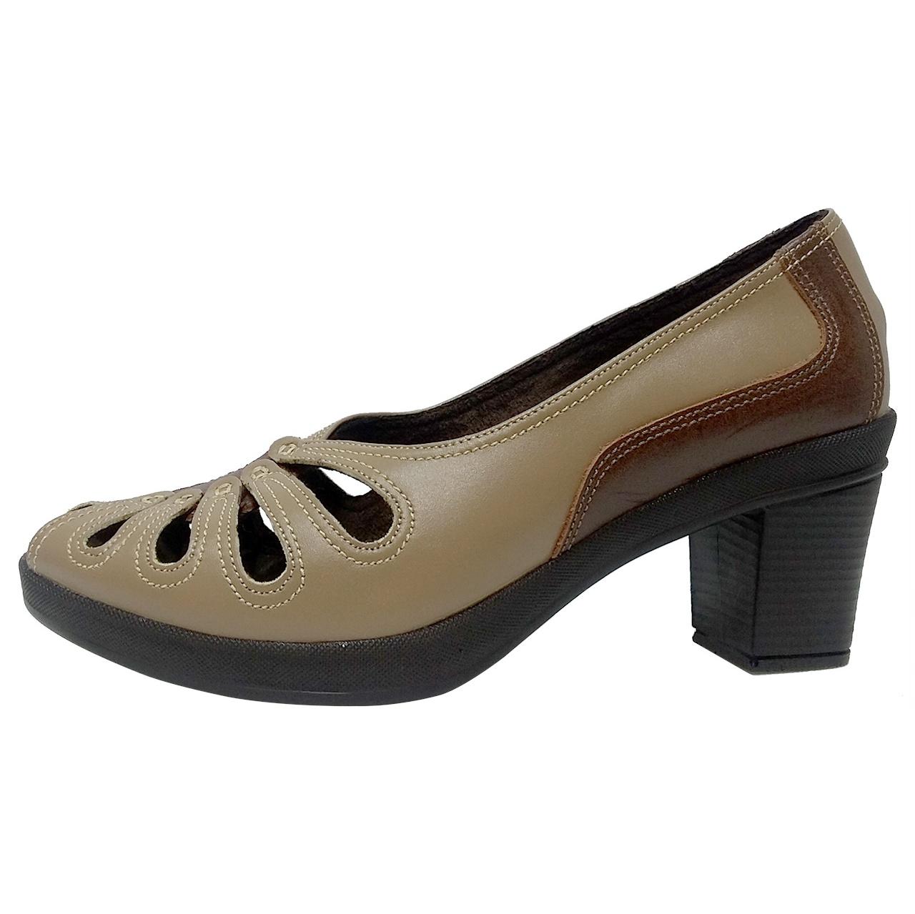 کفش طبی زنانه روشن مدل 211 کد 04