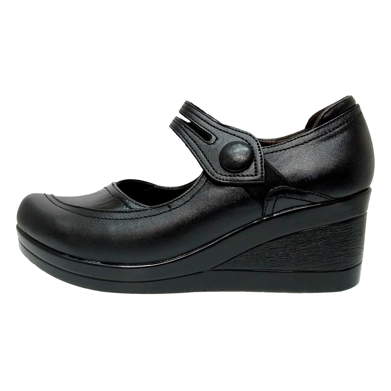 خرید                      کفش زنانه روشن مدل شبنم کد 01