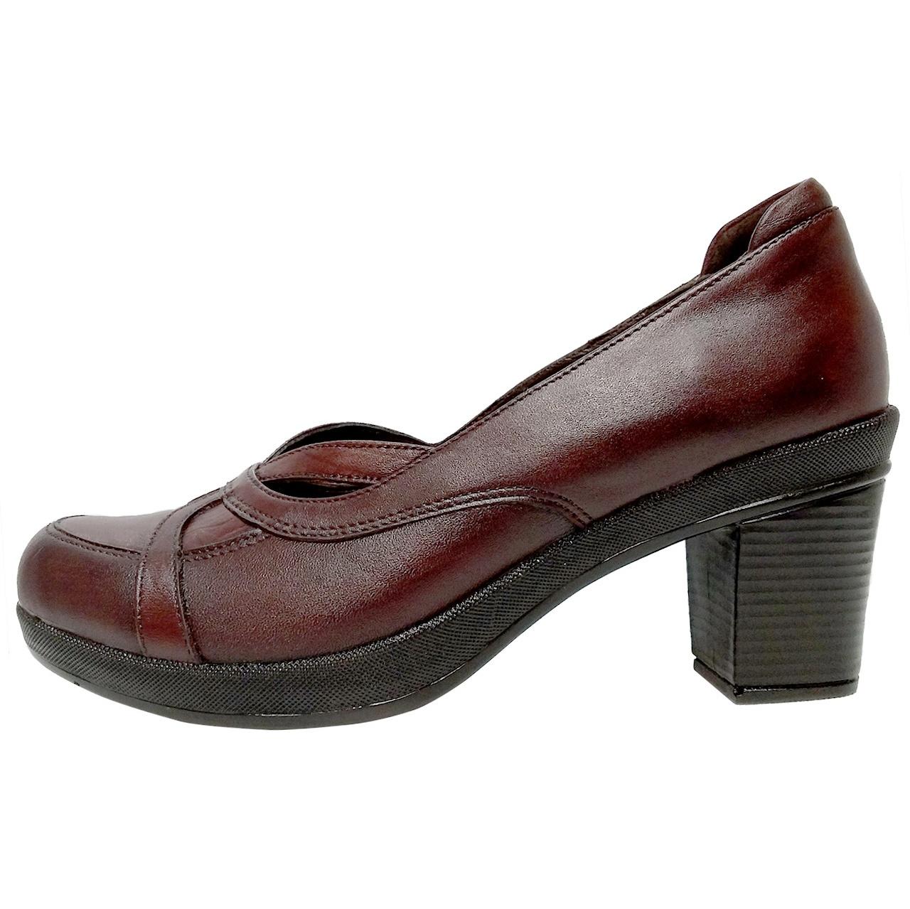 خرید                      کفش زنانه روشن مدل نازنین کد 02