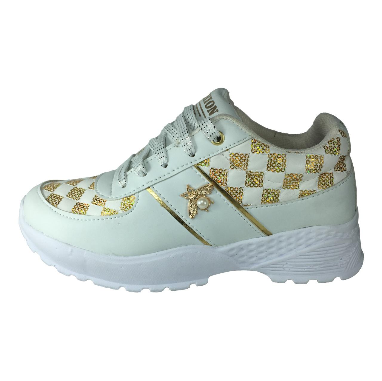 کفش زنانه مدل پولکی B411