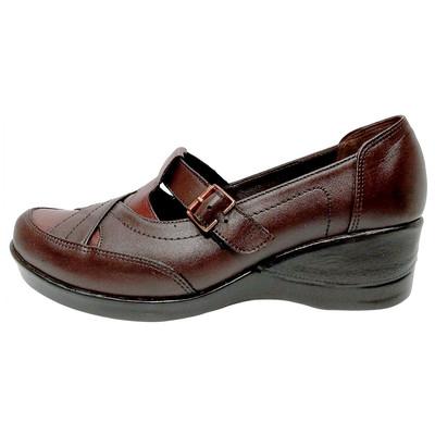 تصویر کفش طبی زنانه روشن مدل 220 کد 02