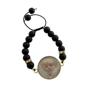 دستبند زنانه طرح BTS - V کد 1002