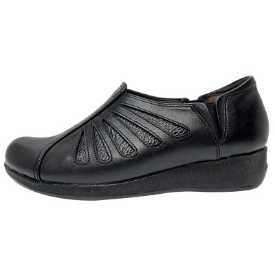 تصویر کفش طبی زنانه روشن مدل شاهین کد 01