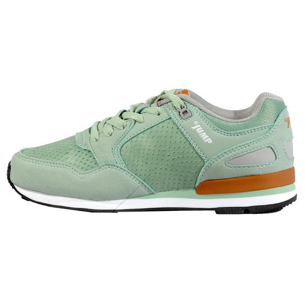 کفش پیاده روی زنانه جامپ مدل 16332-C رنگ سبز روشن