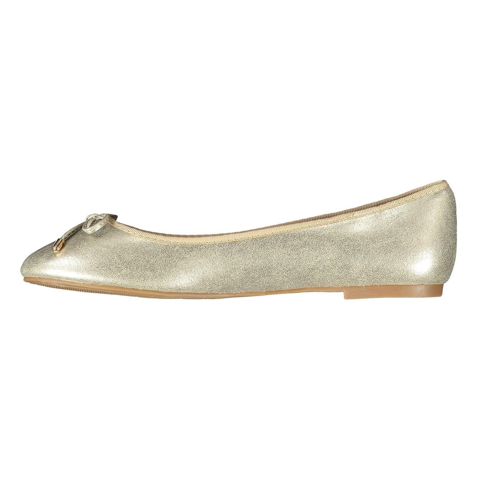 کفش تخت زنانه - پارفوا - طلايي روشن - 3