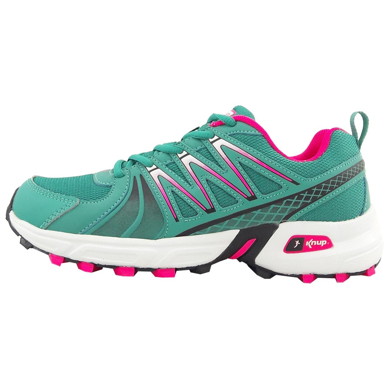کفش مخصوص پیاده روی زنانه کناپ مدل Grn.pnk01
