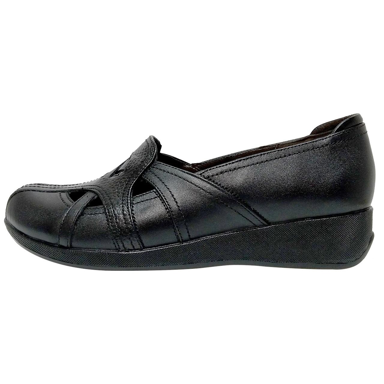 خرید                      کفش زنانه روشن مدل 10025 کد 01