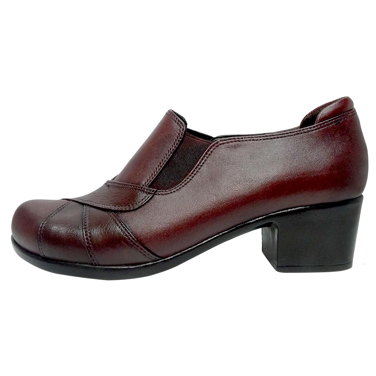 تصویر کفش طبی زنانه روشن مدل 565 کد 02