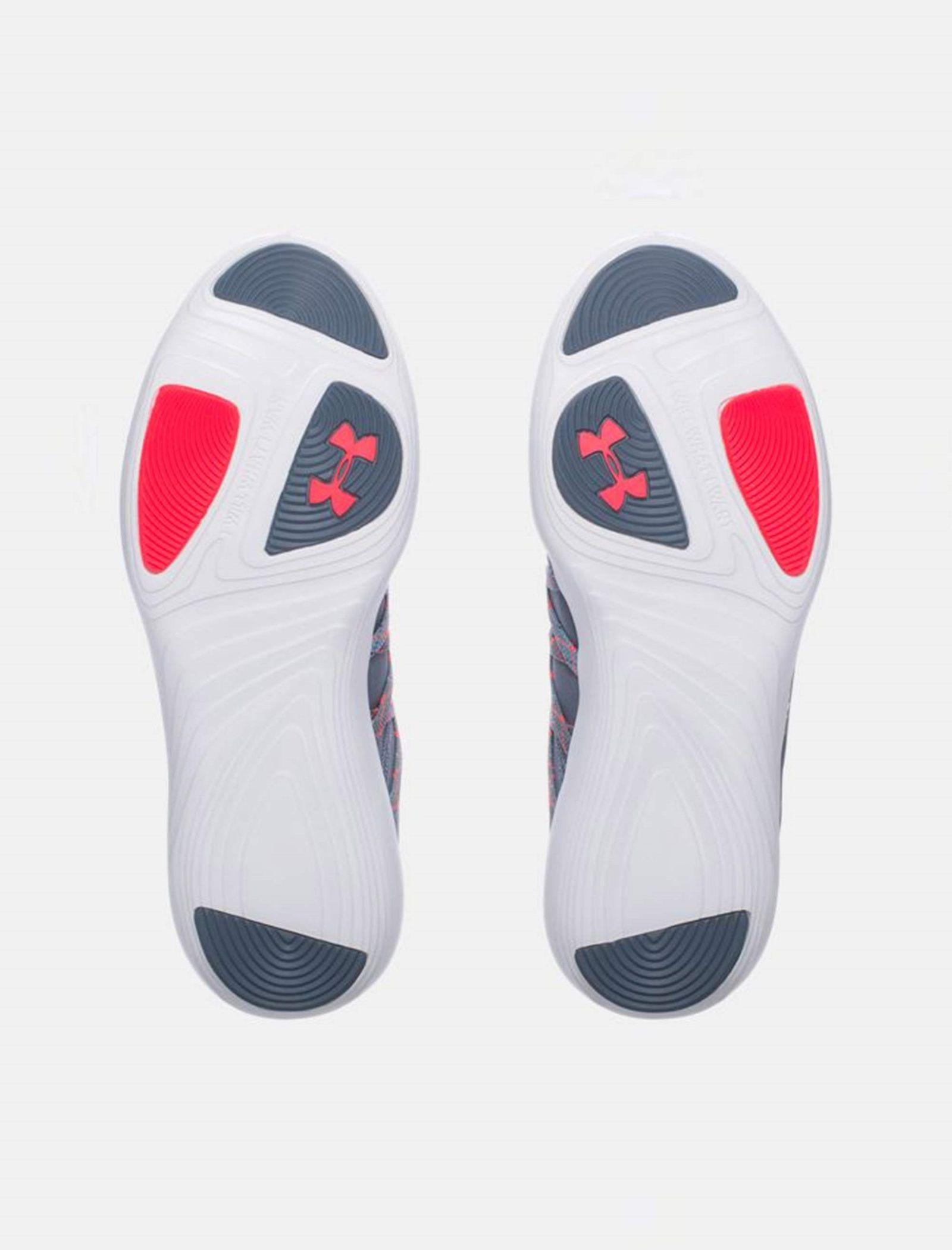کفش تمرین بندی زنانه - آندر آرمور - طوسي روشن - 4