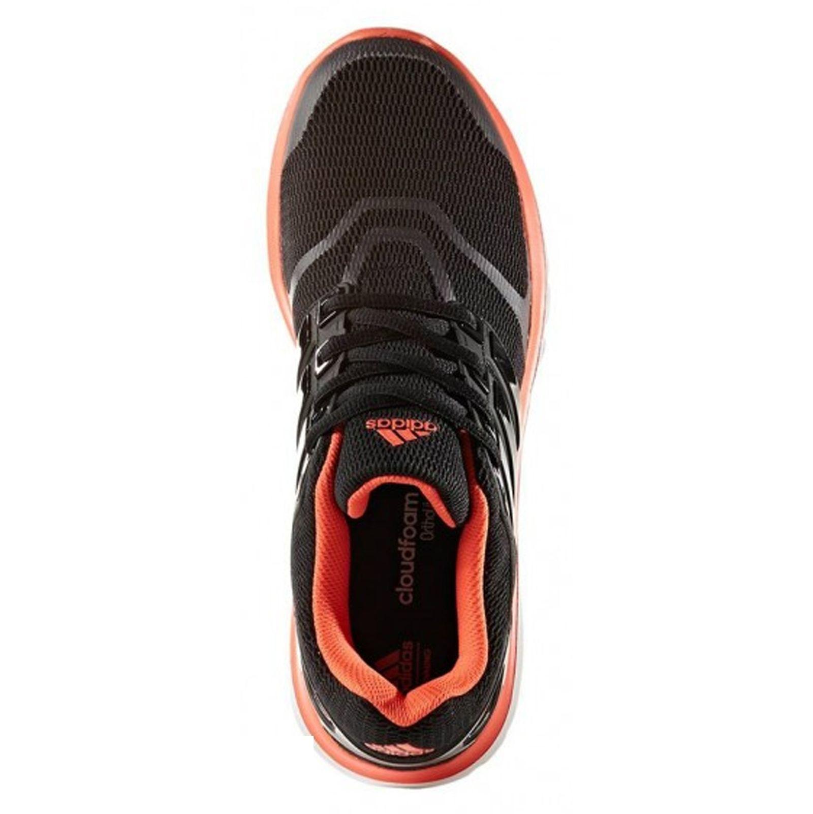 کفش دویدن بندی زنانه Energy Cloud V - آدیداس - مشکي و نارنجي - 2