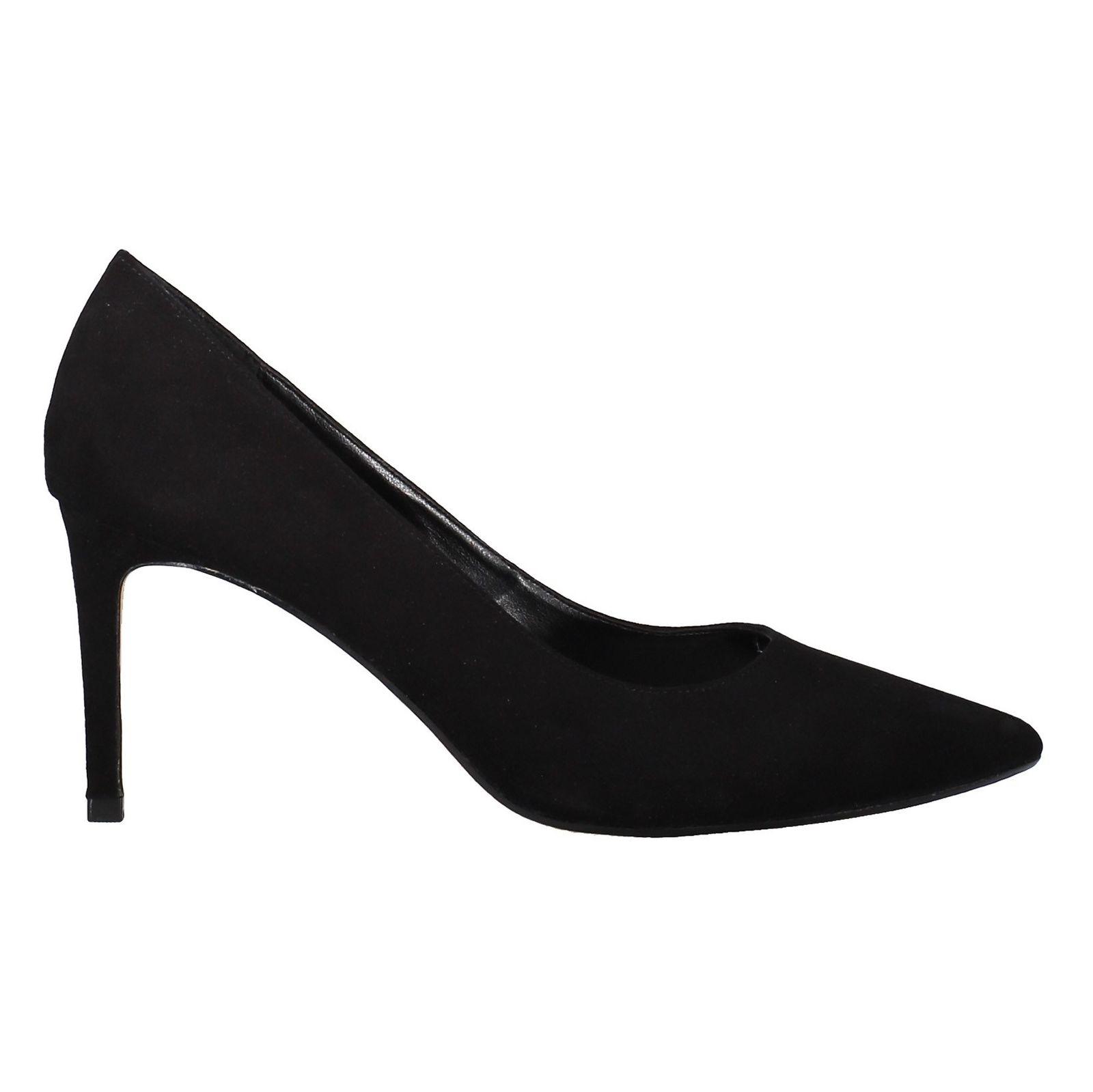 کفش پاشنه بلند جیر زنانه - دون لندن - مشکي - 1