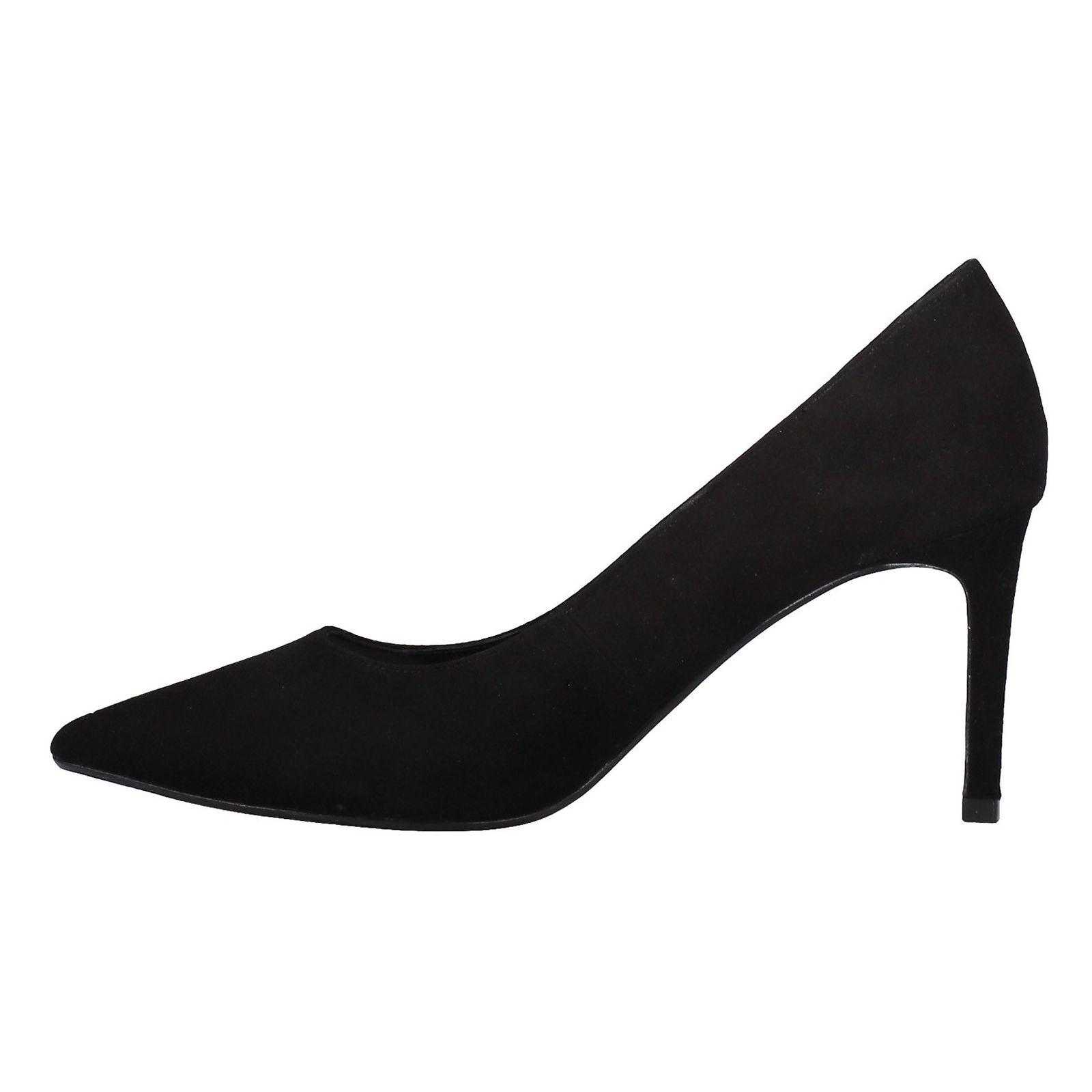 کفش پاشنه بلند جیر زنانه - دون لندن - مشکي - 3