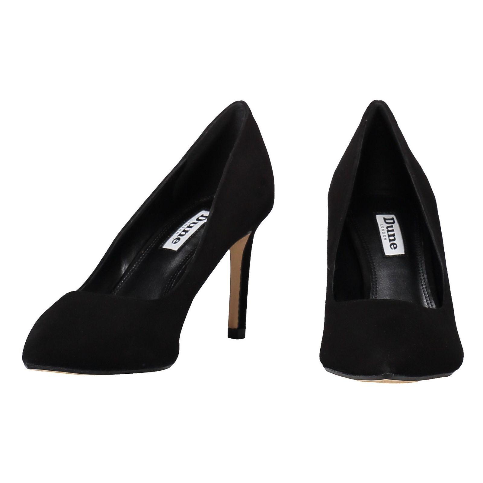 کفش پاشنه بلند جیر زنانه - دون لندن - مشکي - 4