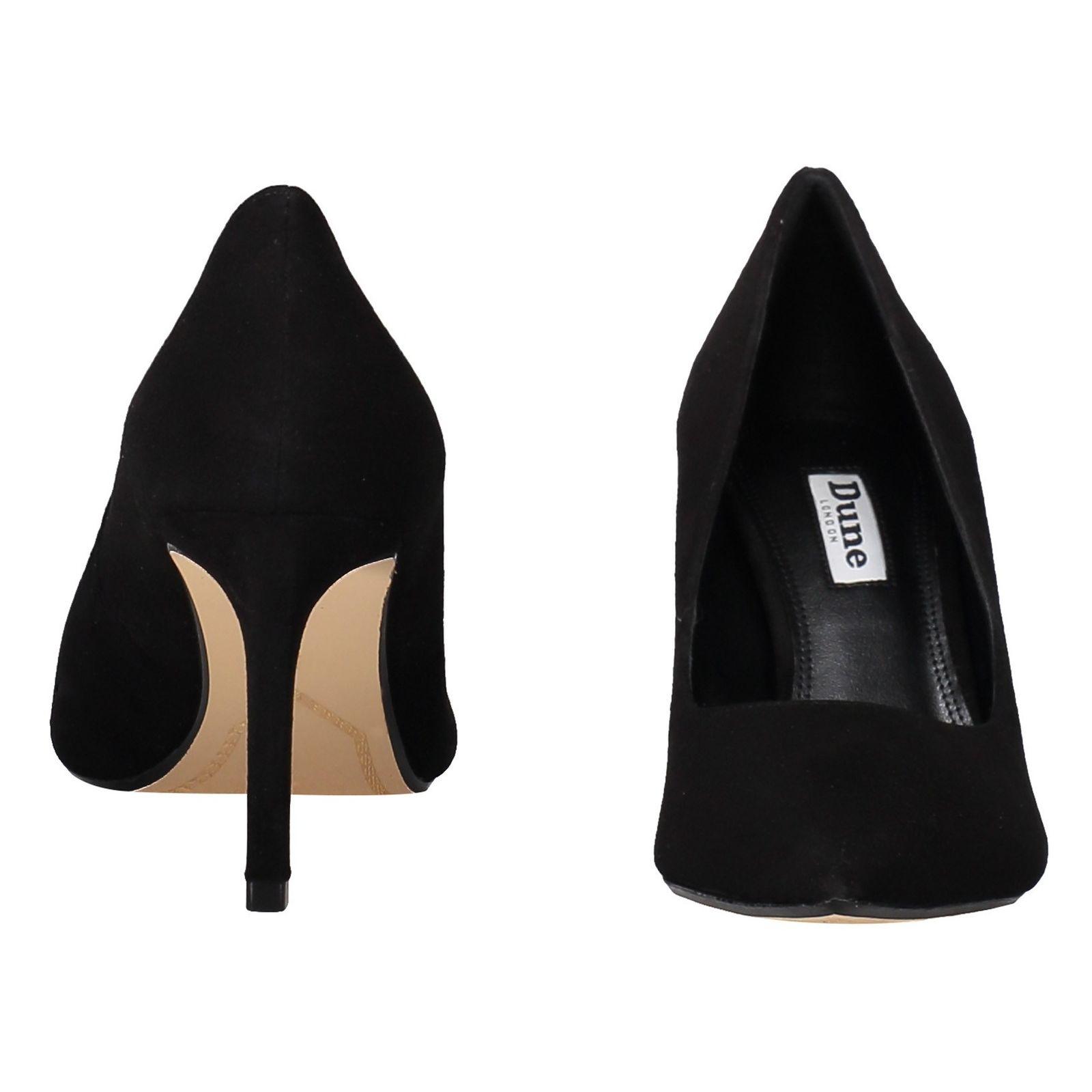 کفش پاشنه بلند جیر زنانه - دون لندن - مشکي - 5