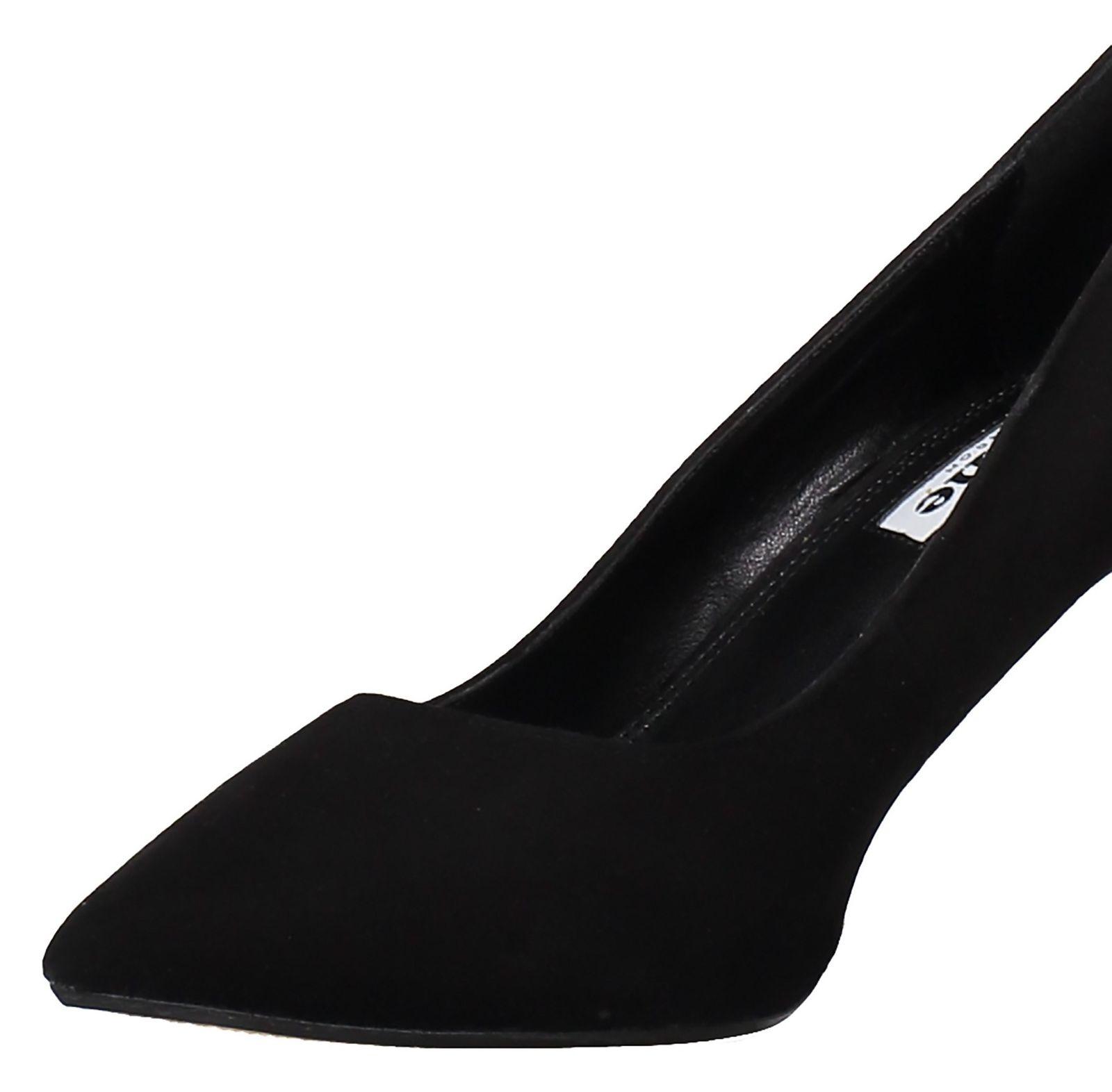 کفش پاشنه بلند جیر زنانه - دون لندن - مشکي - 6