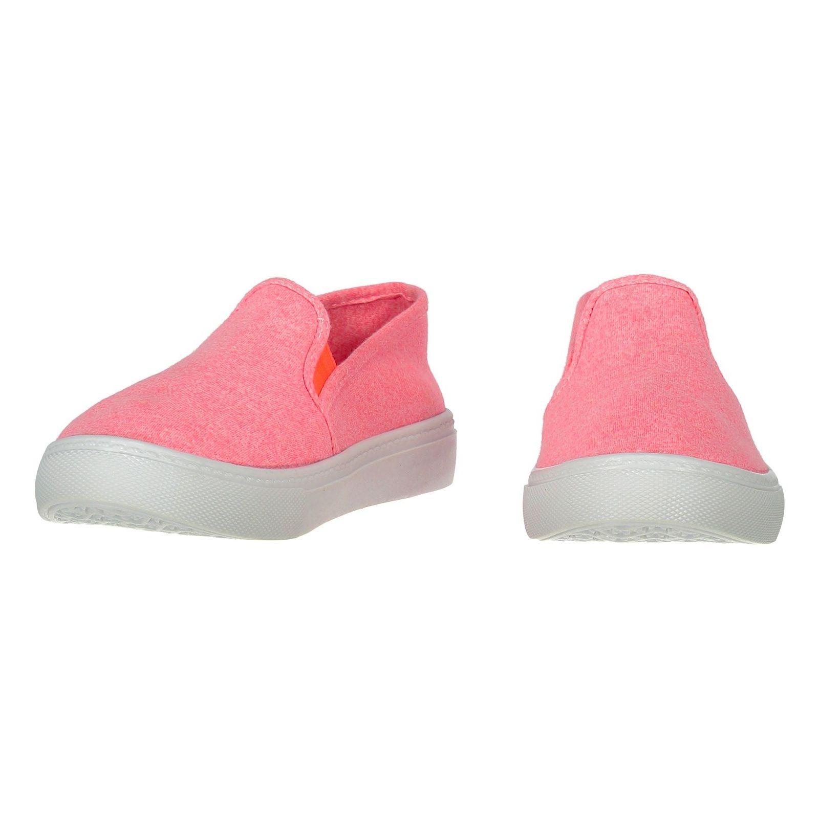کفش تخت پارچه ای زنانه - ال سی وایکیکی - صورتي - 4