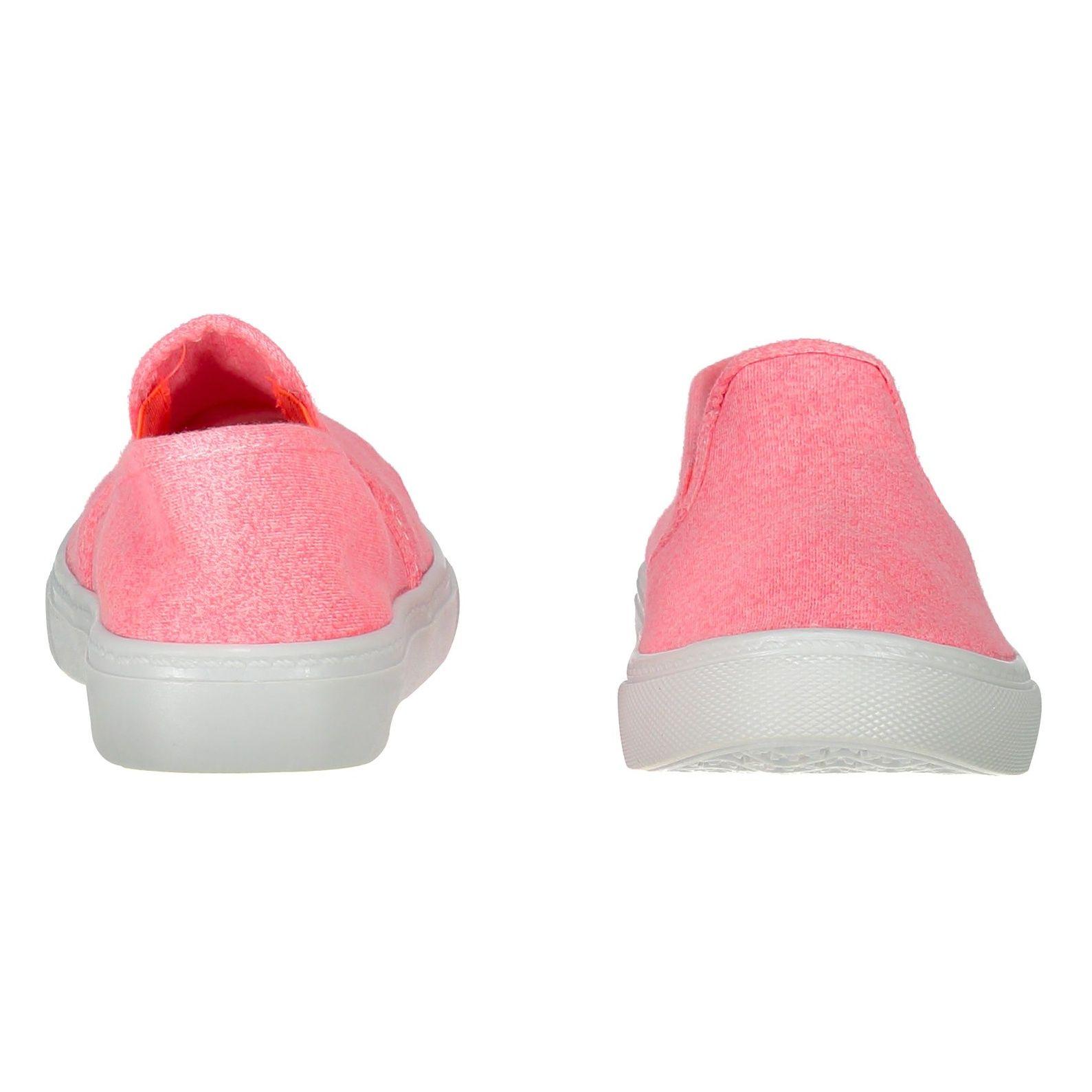 کفش تخت پارچه ای زنانه - ال سی وایکیکی - صورتي - 5