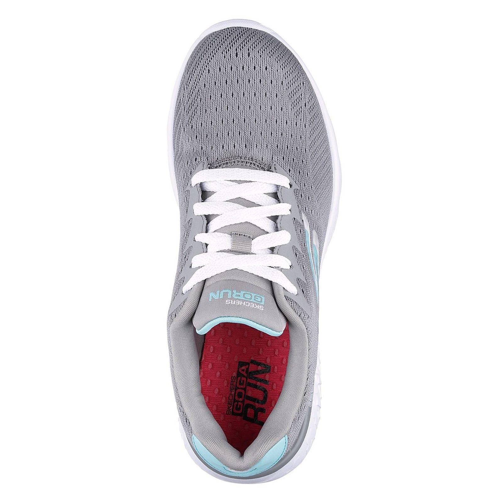 کفش دویدن بندی زنانه GoRun 400 Sole - اسکچرز - طوسي - 2