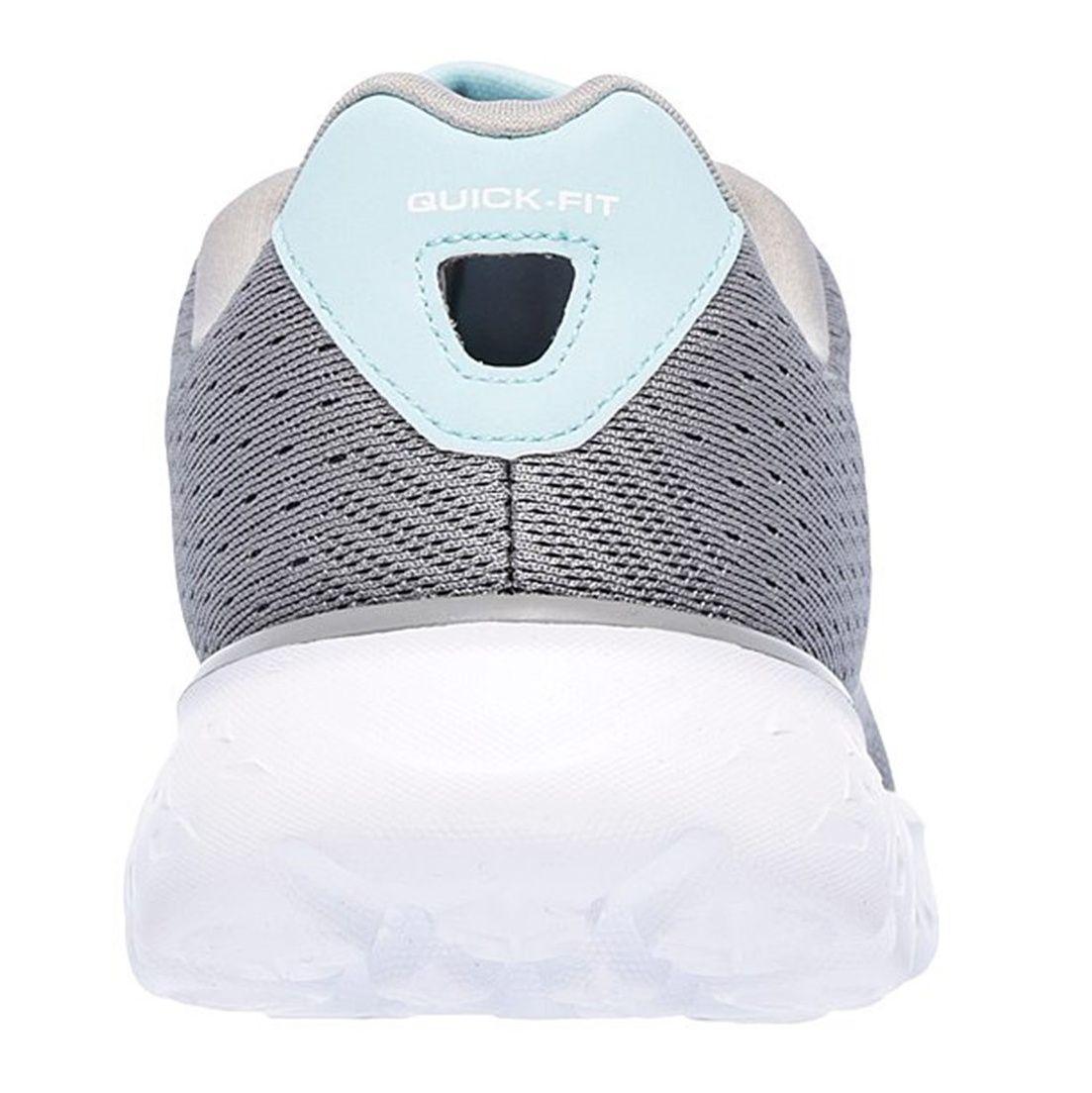 کفش دویدن بندی زنانه GoRun 400 Sole - اسکچرز - طوسي - 4