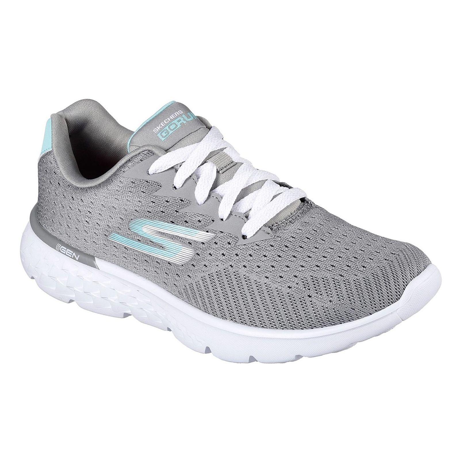 کفش دویدن بندی زنانه GoRun 400 Sole - اسکچرز - طوسي - 5