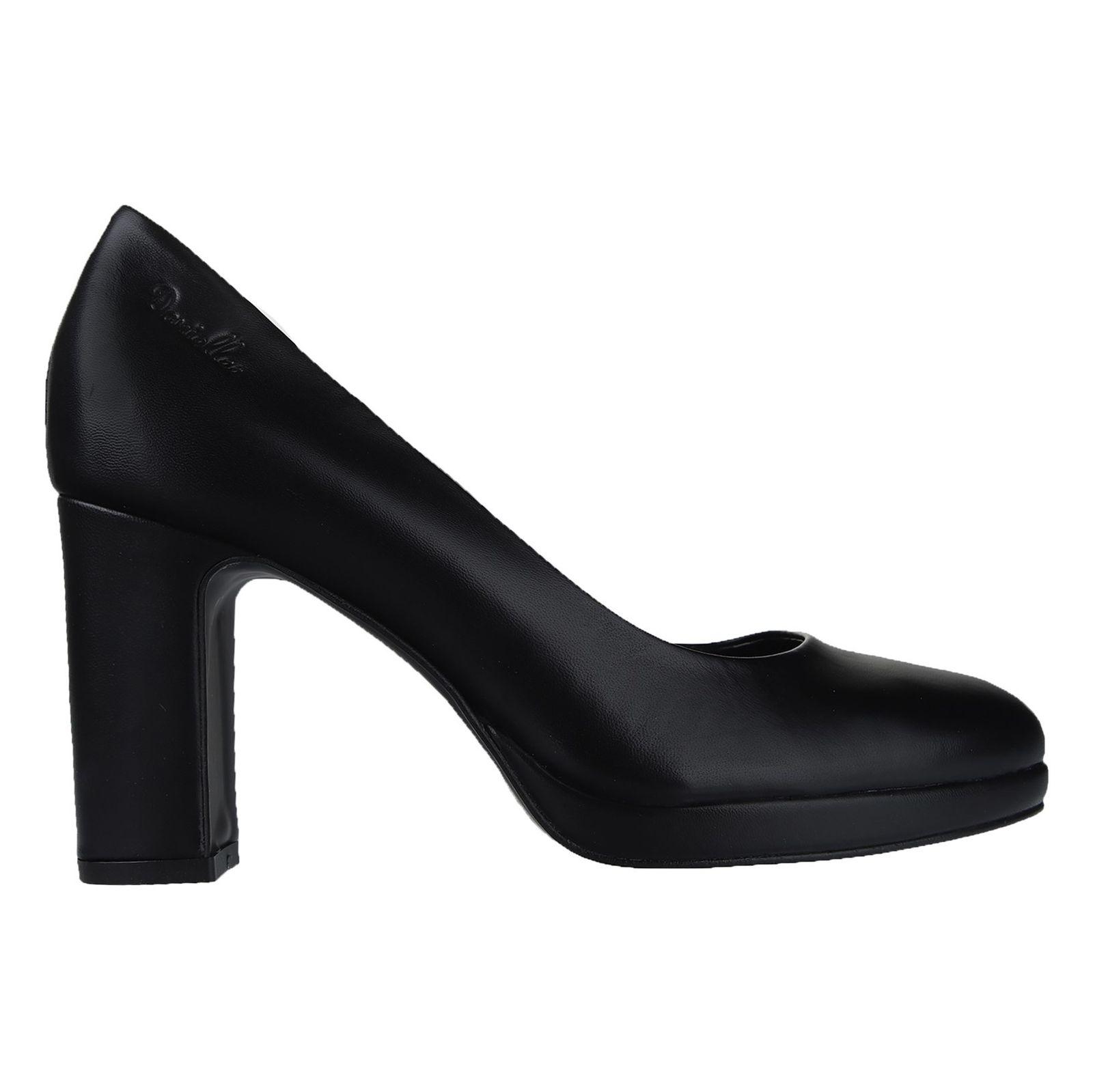 کفش چرم پاشنه بلند زنانه Julliet - دنیلی - مشکي - 1