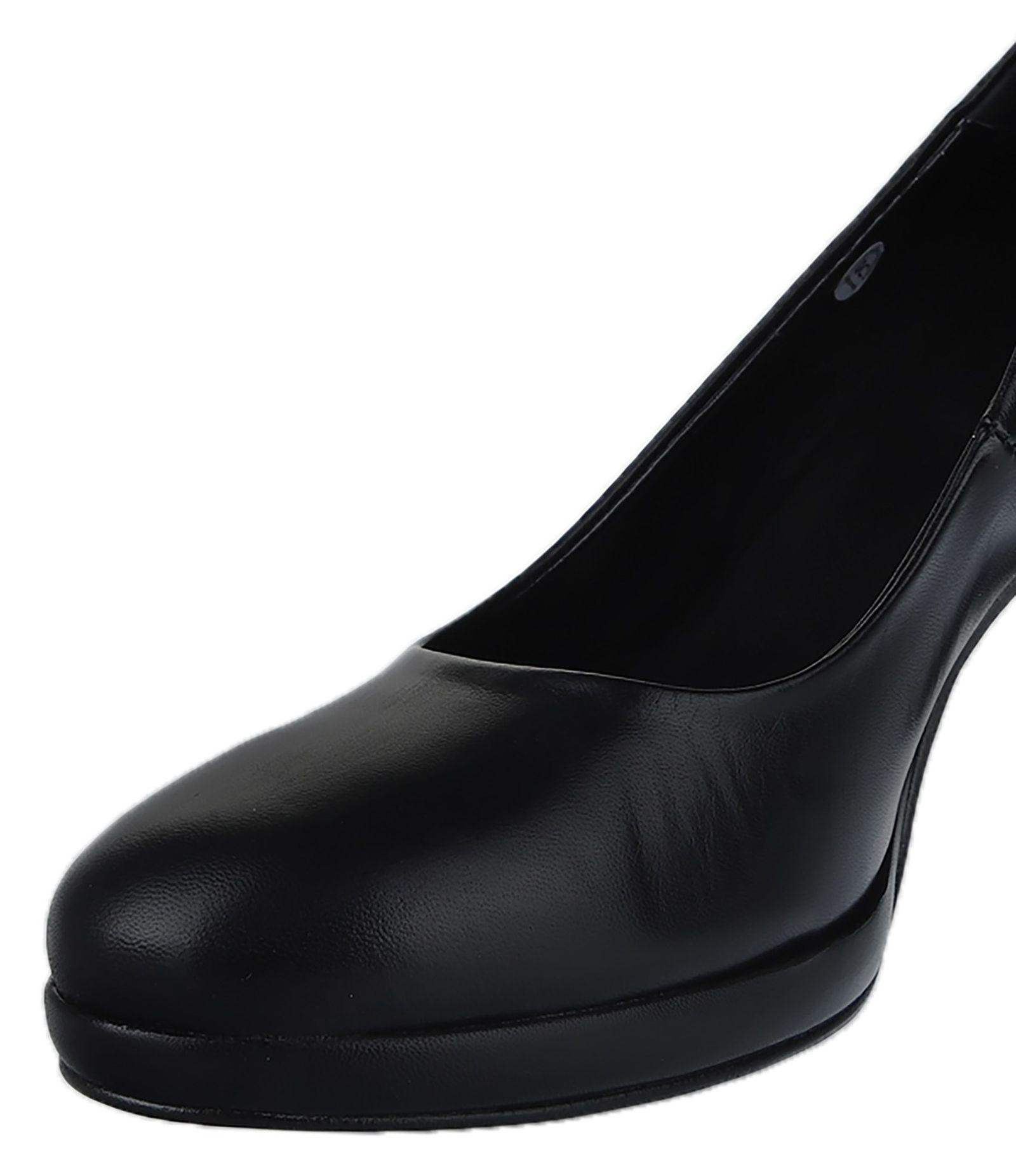 کفش چرم پاشنه بلند زنانه Julliet - دنیلی - مشکي - 3