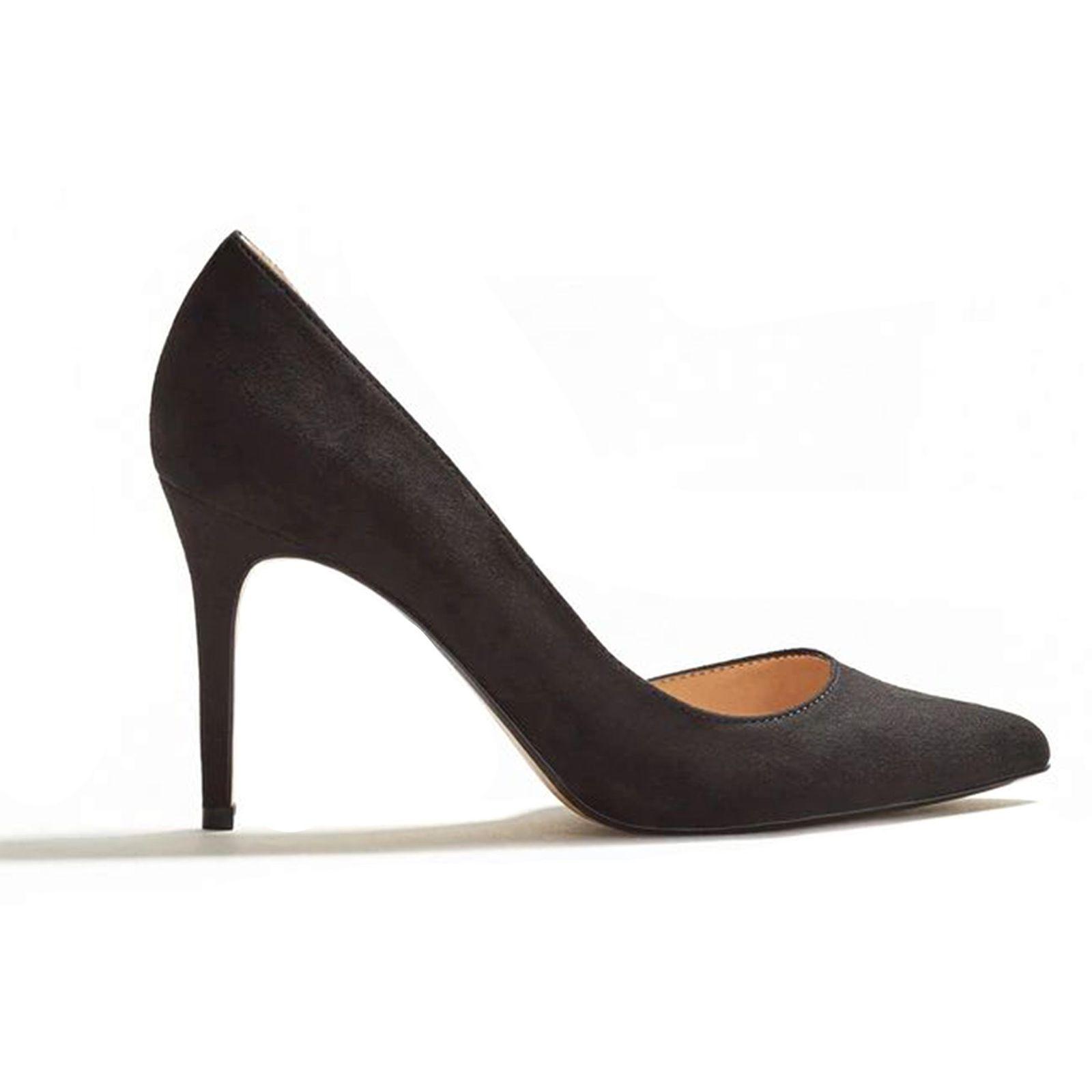 کفش پاشنه بلند زنانه - مانگو - مشکي - 1