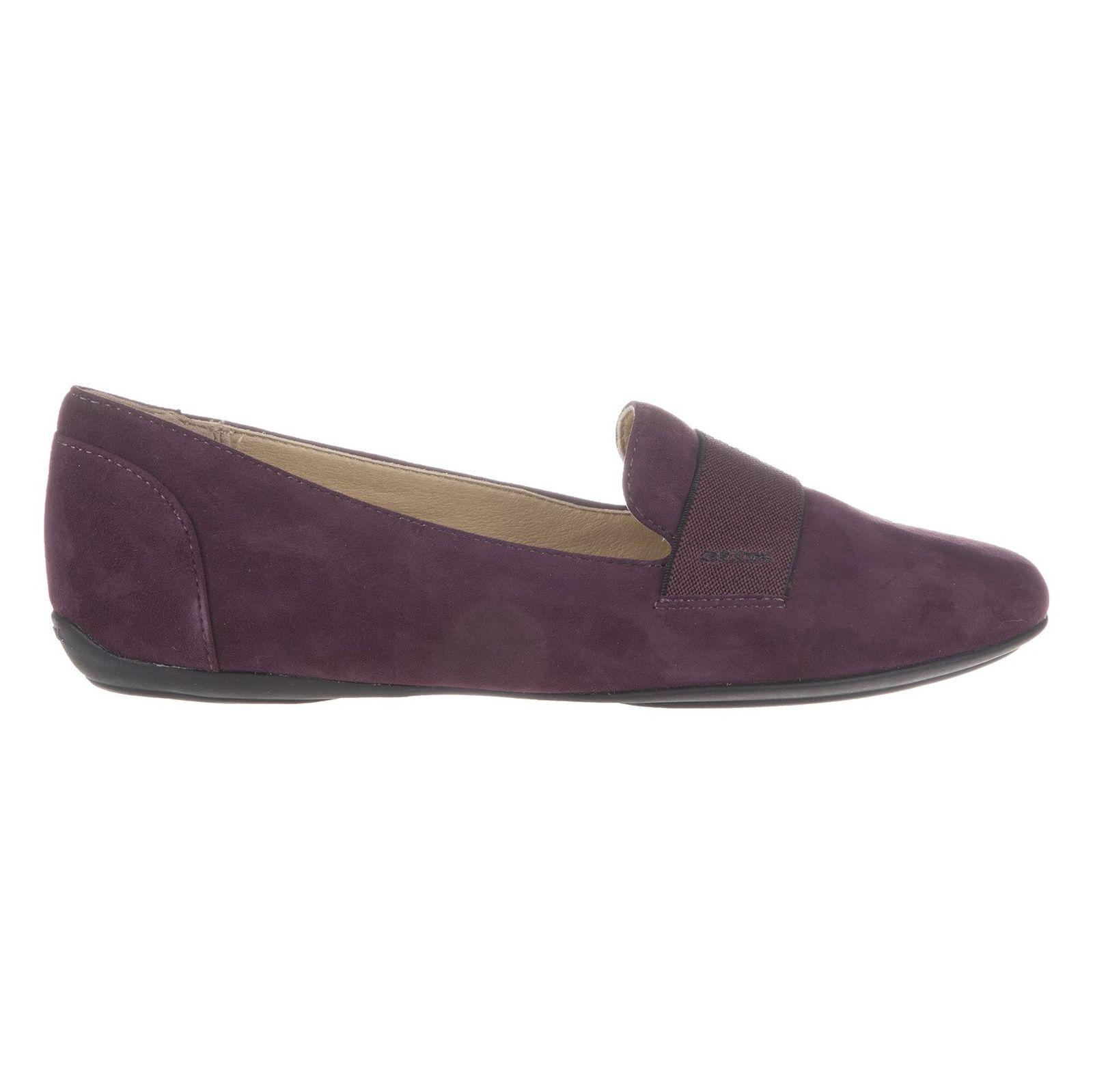 کفش تخت زنانه جی اوکس مدل D34Y7J-00021-C8017 - بنفش - 4
