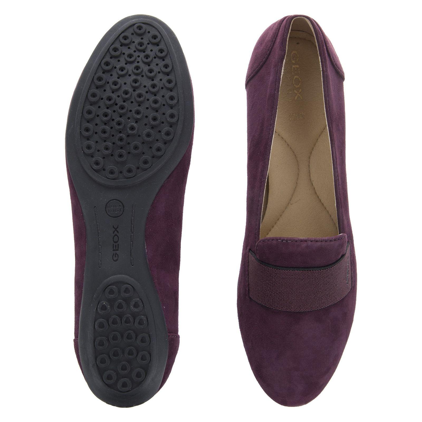 کفش تخت زنانه جی اوکس مدل D34Y7J-00021-C8017 - بنفش - 2