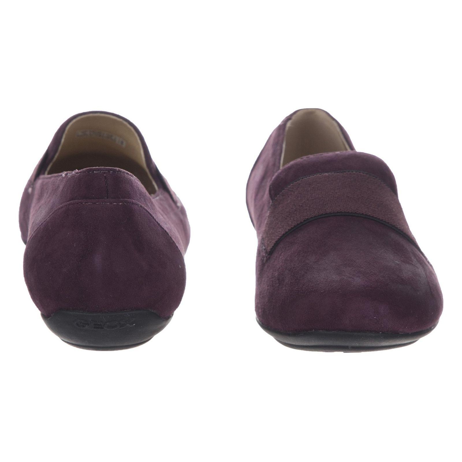کفش تخت زنانه جی اوکس مدل D34Y7J-00021-C8017 - بنفش - 3