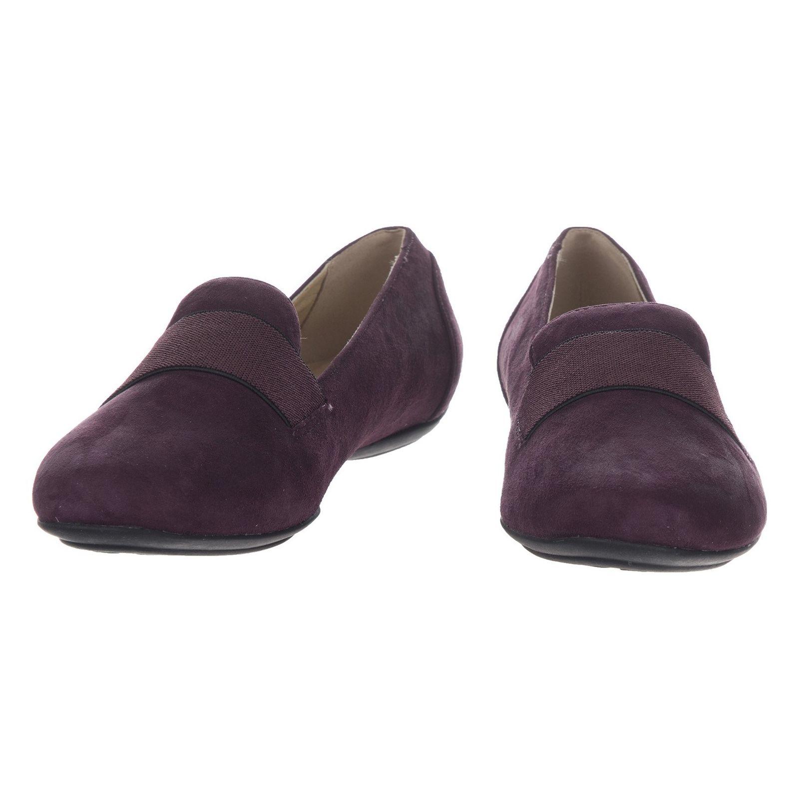کفش تخت زنانه جی اوکس مدل D34Y7J-00021-C8017 - بنفش - 5