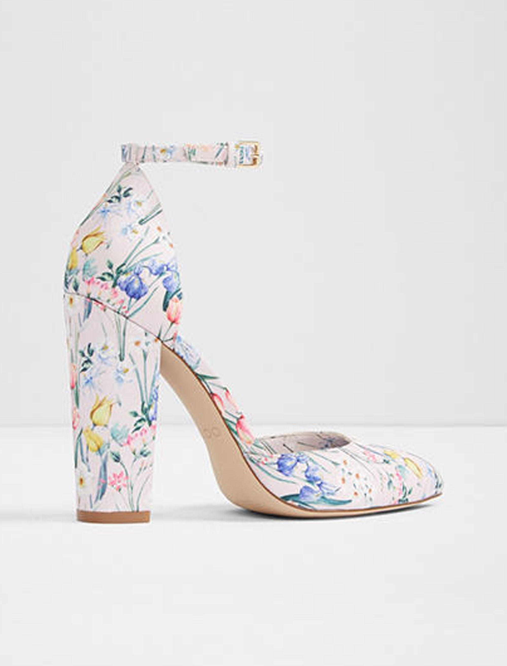 کفش پاشنه بلند زنانه - آلدو - صورتي روشن - 2