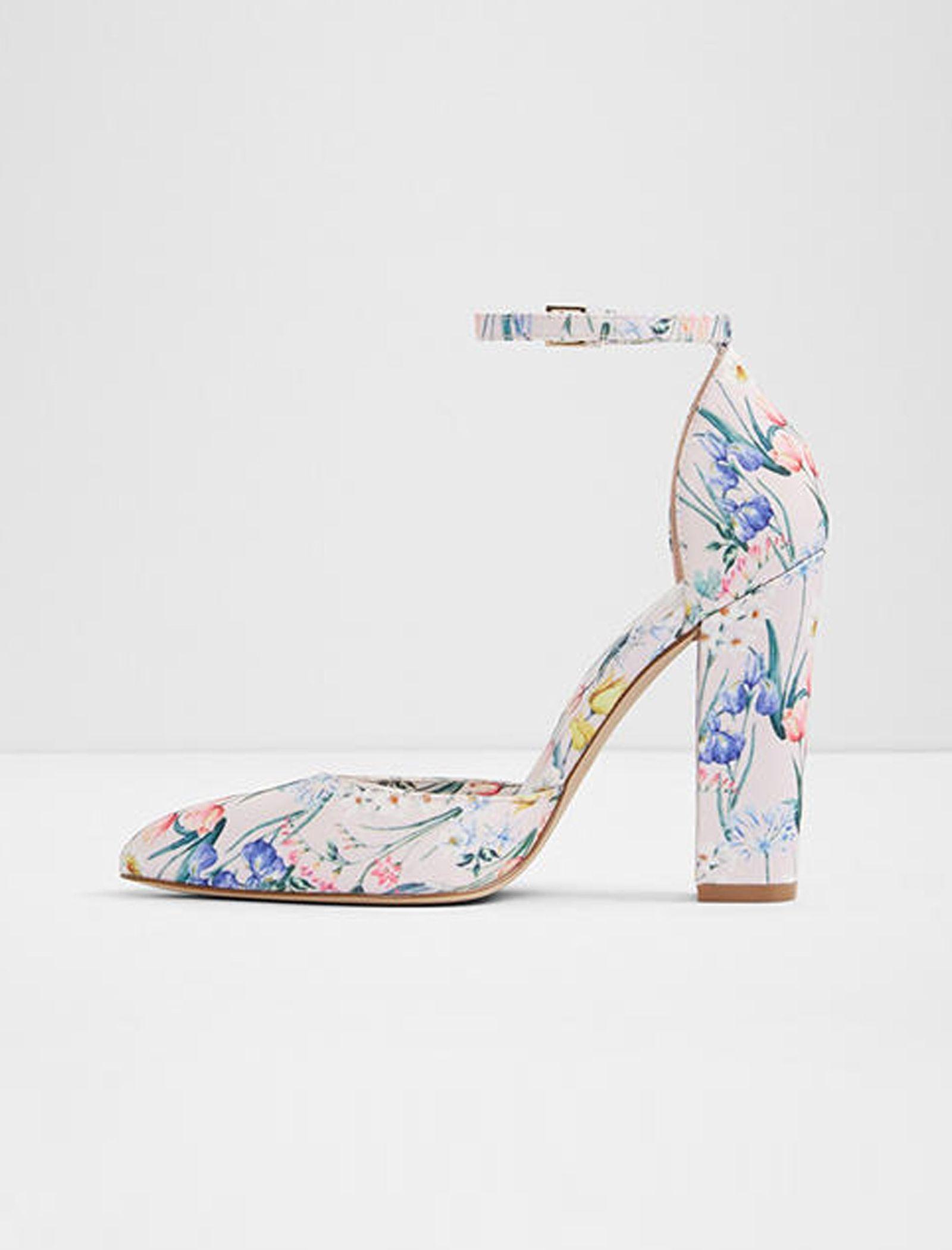 کفش پاشنه بلند زنانه - آلدو - صورتي روشن - 3