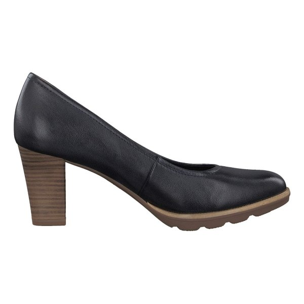 کفش چرم پاشنه بلند زنانه - تاماریس