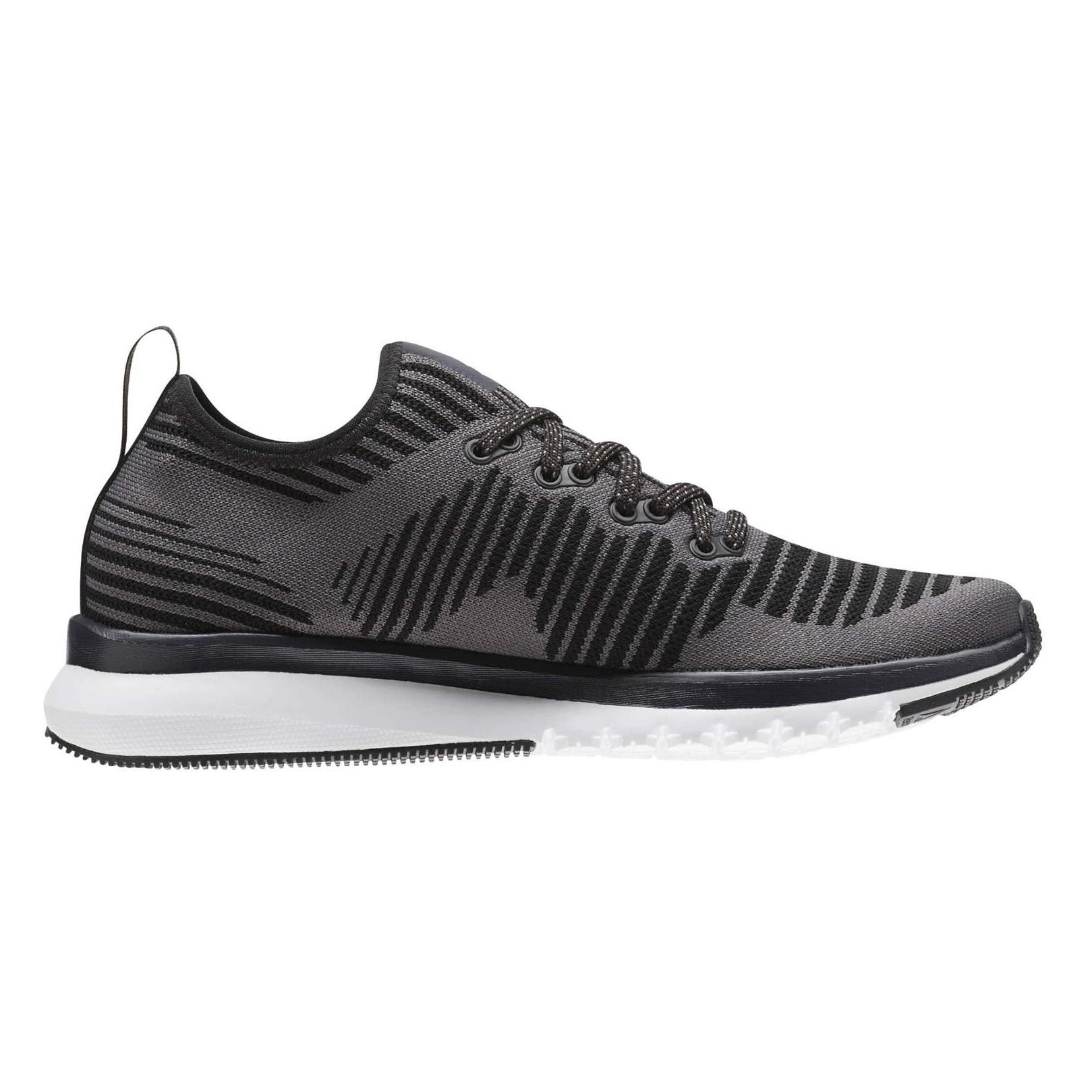 کفش دویدن بندی زنانه Print Smooth 2 Ultraknit - ریباک - خاکستري - 1