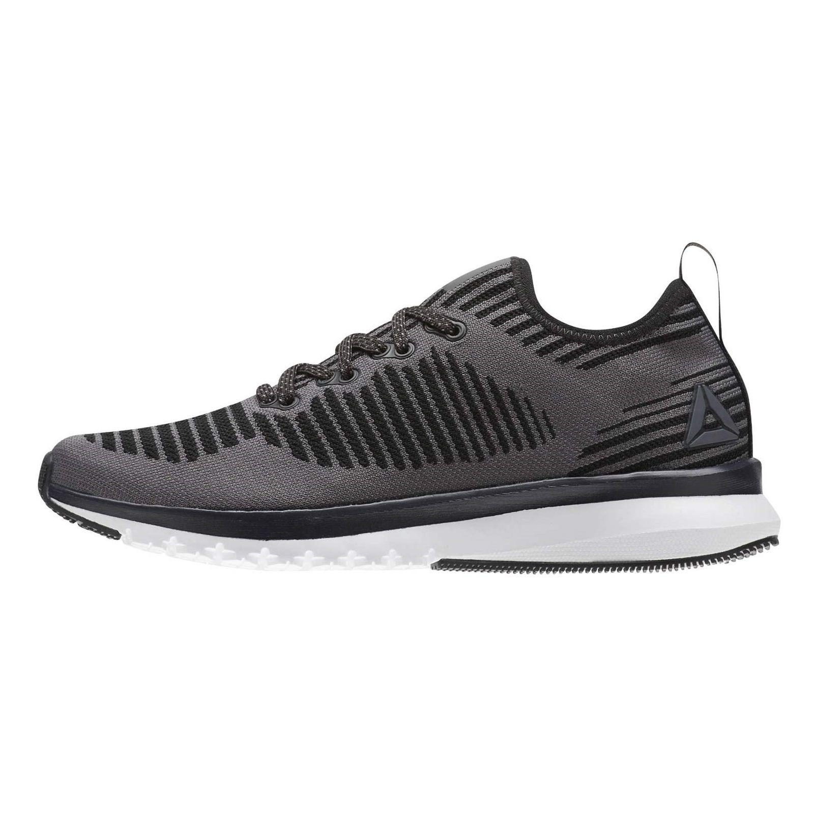 کفش دویدن بندی زنانه Print Smooth 2 Ultraknit - ریباک - خاکستري - 5