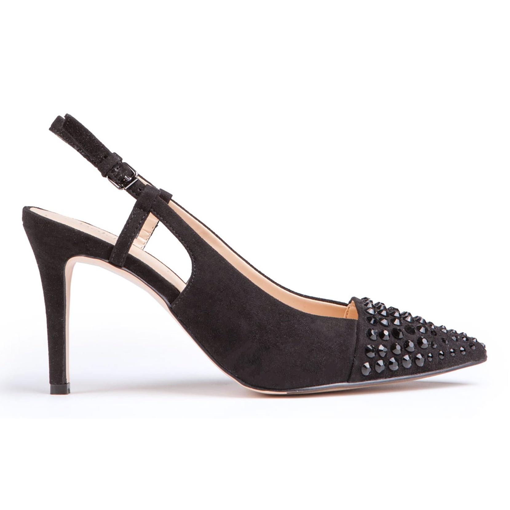 کفش پاشنه بلند جیر زنانه - بالدی