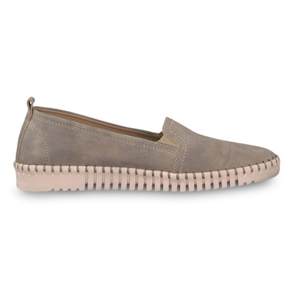 کفش چرم تخت زنانه  WAVA - تاماریس