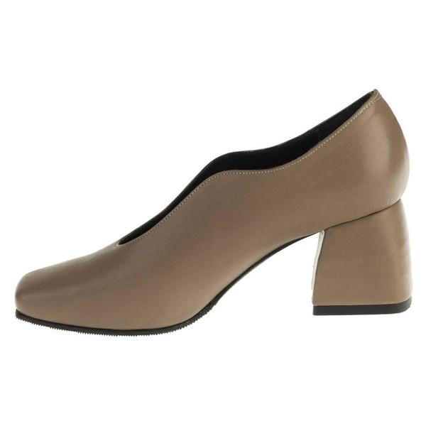 کفش پاشنه دار چرم زنانه Azarm - آرتمن