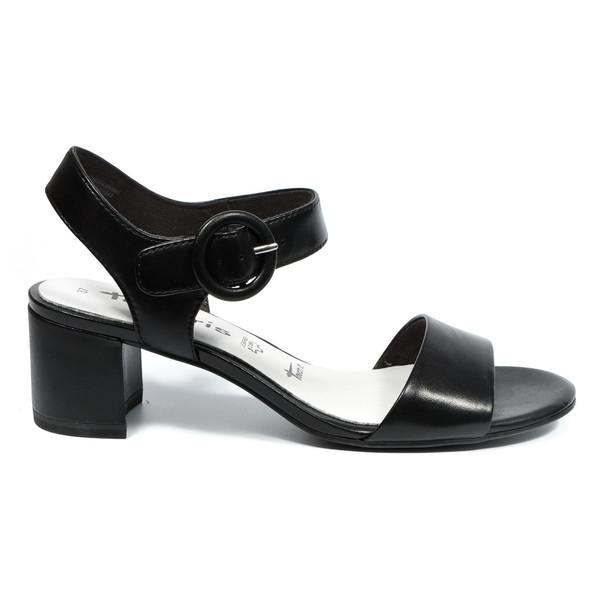 کفش پاشنه بلند چرم زنانه - تاماریس