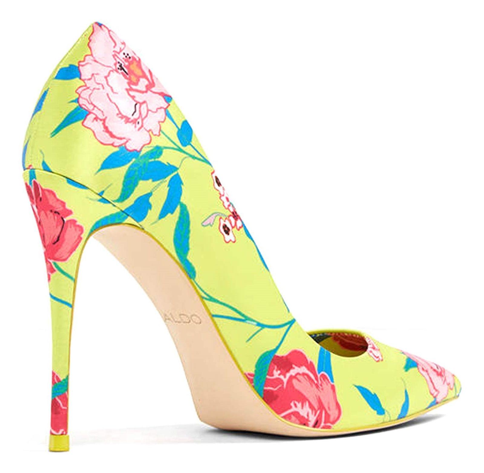 کفش پاشنه بلند زنانه - آلدو - سبز فسفري - 2