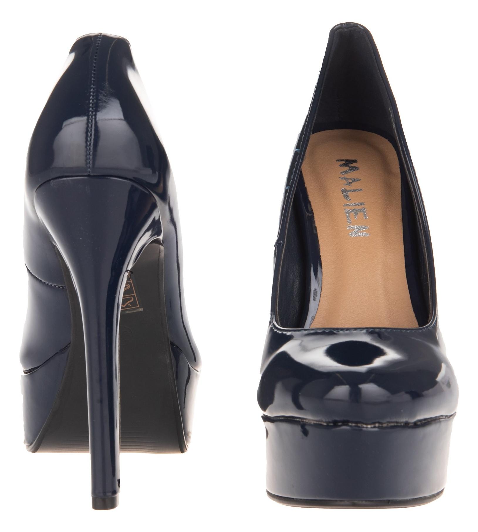 کفش پاشنه بلند زنانه - مالین - سرمهاي - 4