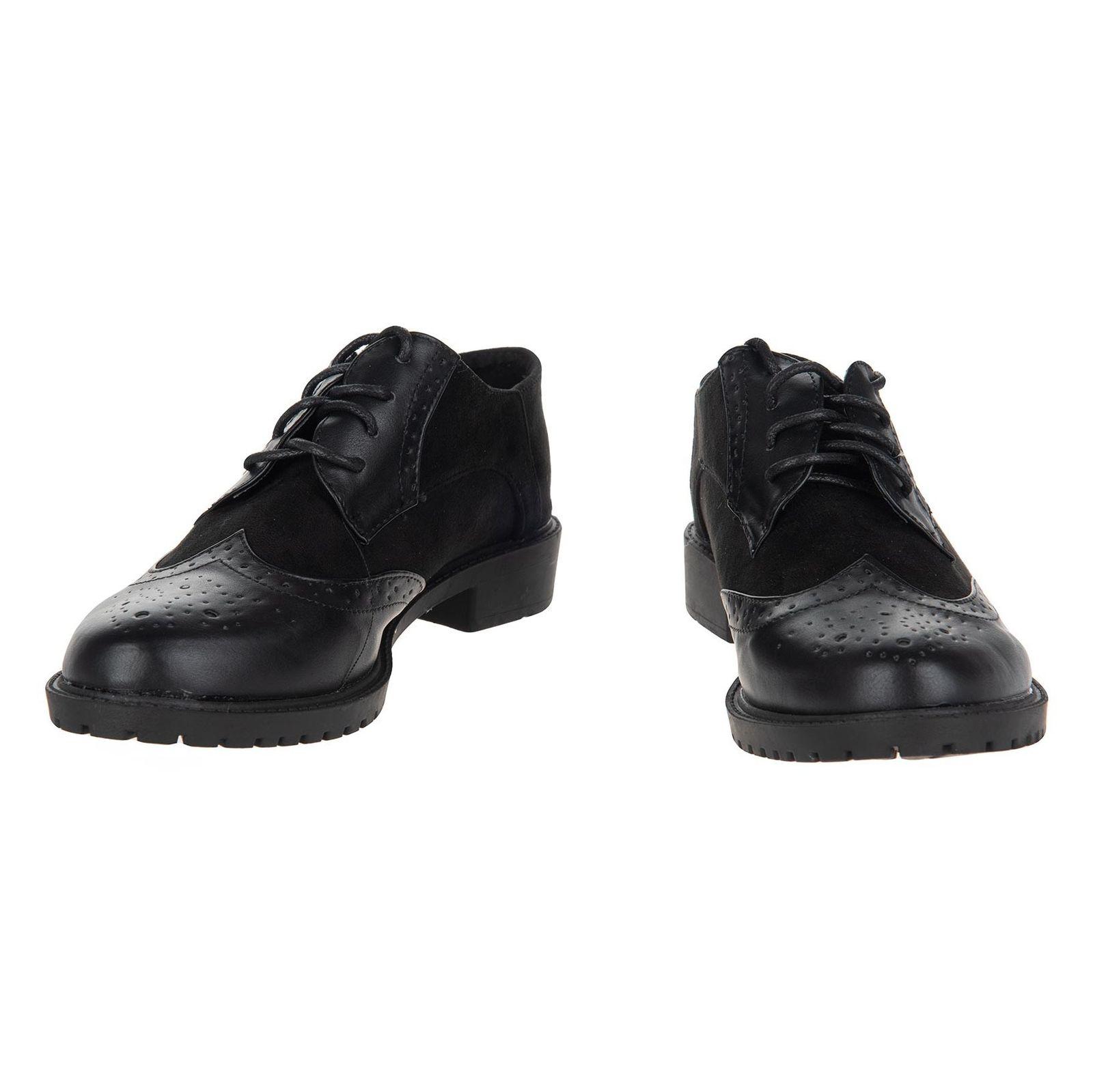 کفش تخت زنانه - مالین - مشکی - 3