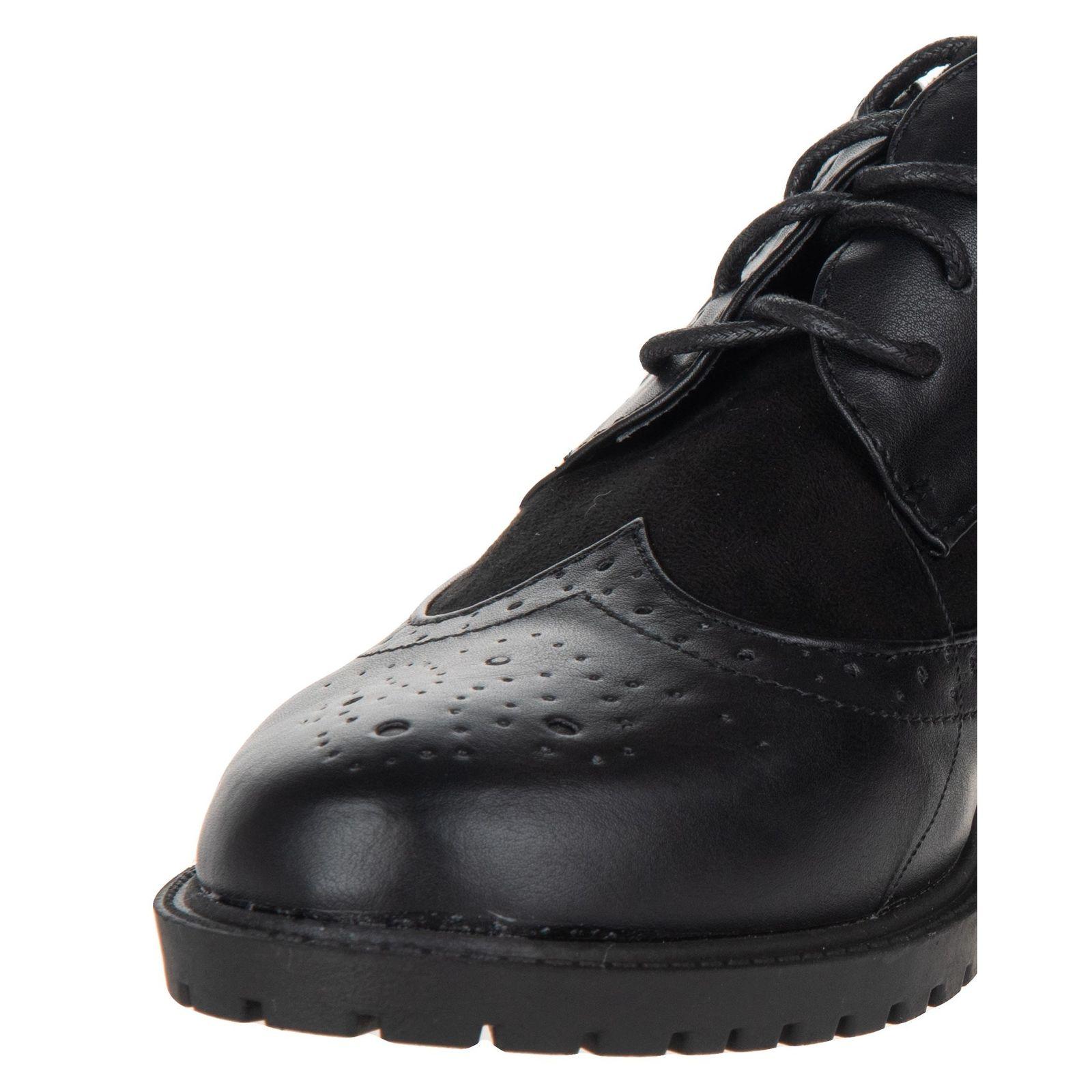 کفش تخت زنانه - مالین - مشکی - 6