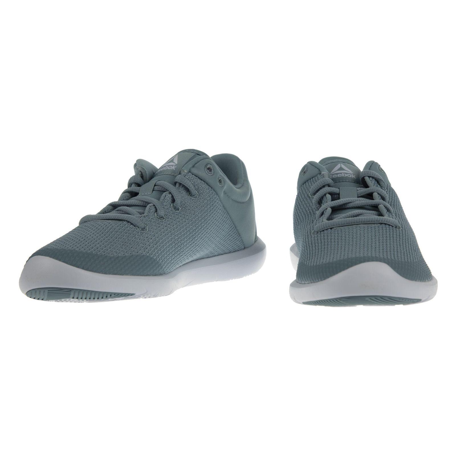 کفش زنانه ریباک مدل Studio Basics - سبز آبی - 4