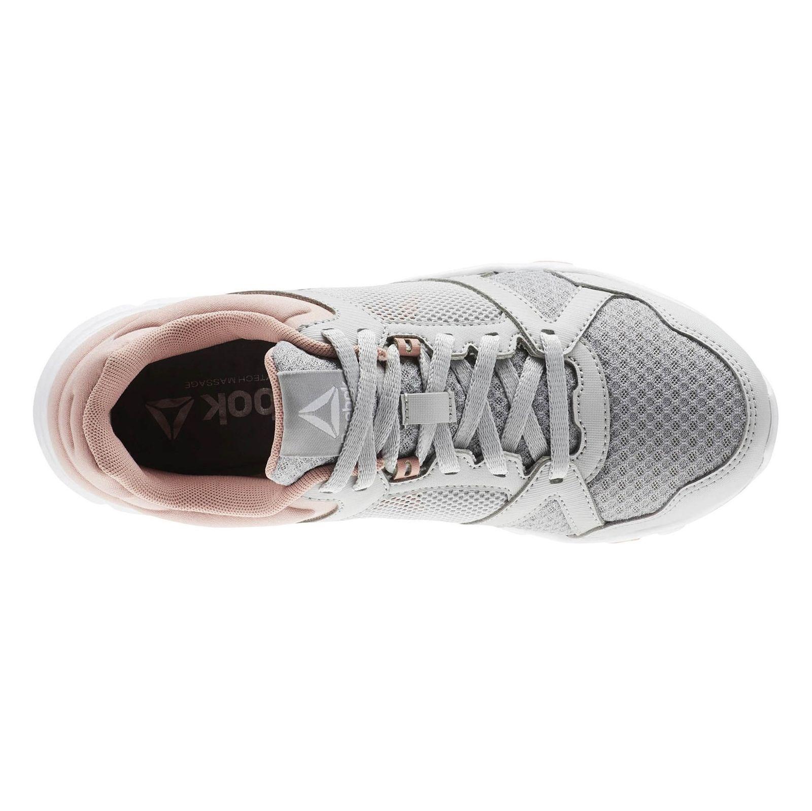 کفش تمرین زنانه ریباک مدل Yourflex Trainette 10 MT - طوسي و صورتي - 5