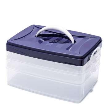 جعبه لوازم خیاطی پریم مدل Click کد 612403