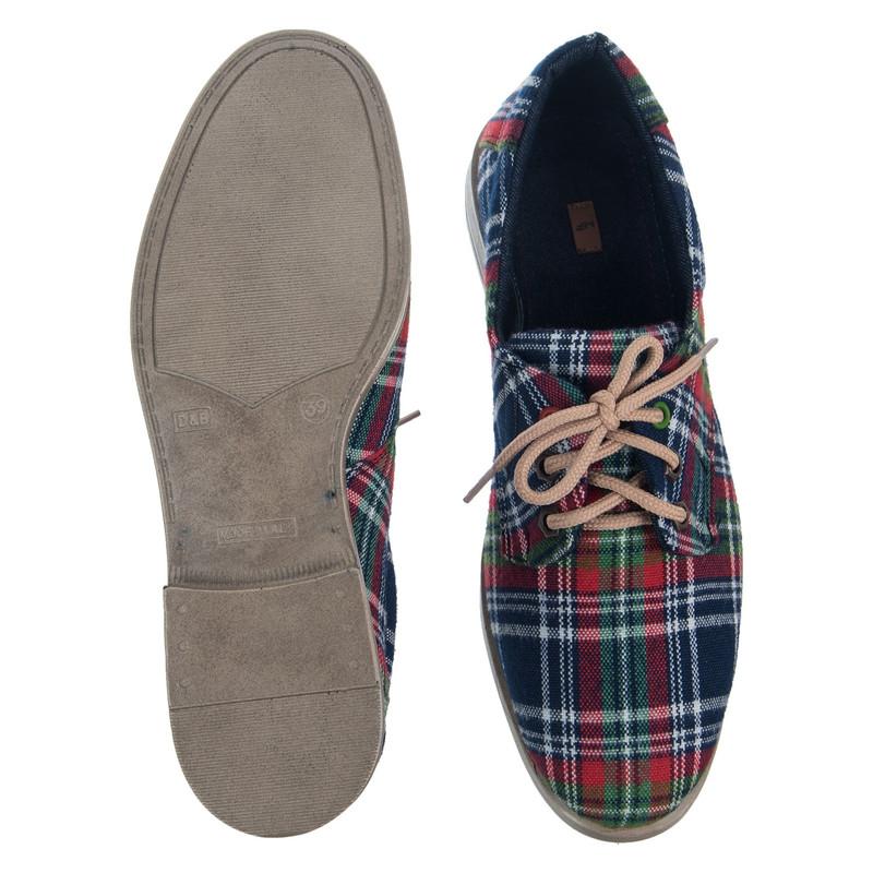 کفش تخت زنانه مدل چهارخانه - مینا فخارزاده