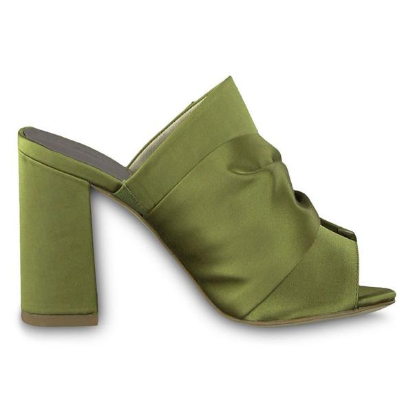 کفش پاشنه بلند پارچه ای زنانه Heiti - تاماریس